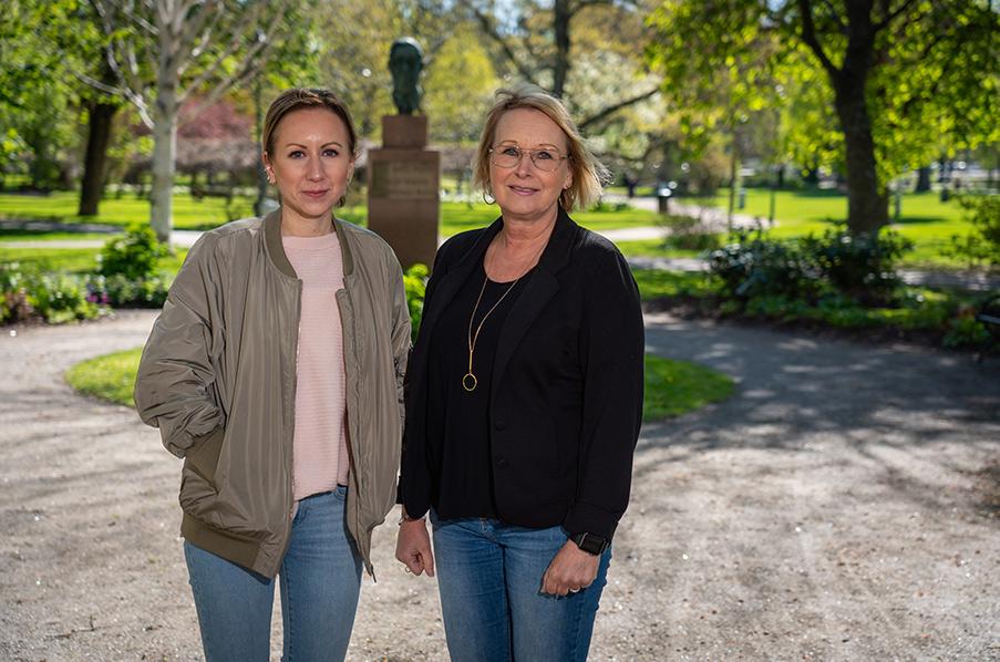 Matilda Persson och Kaisa Johannesson